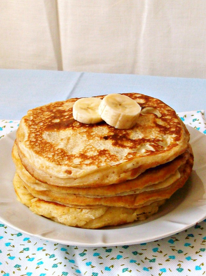 banana yogurt pancakes2aа
