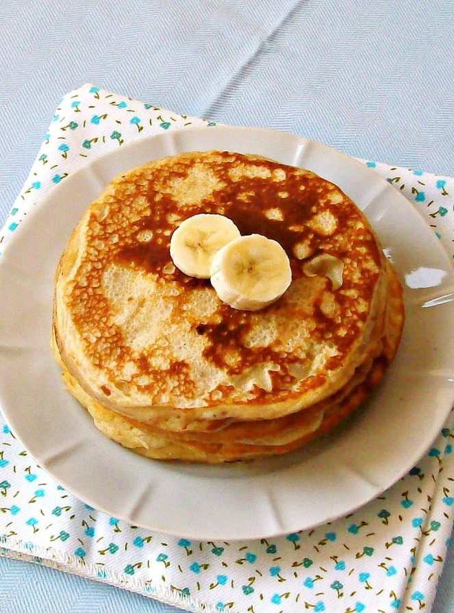 banana yogurt pancakes3a