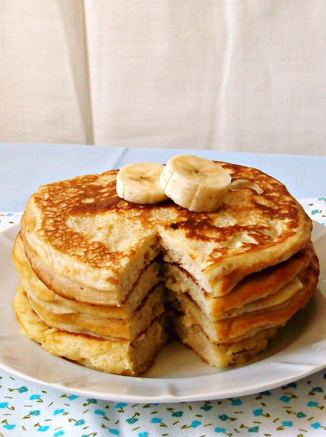 banana yogurt pancakes7a