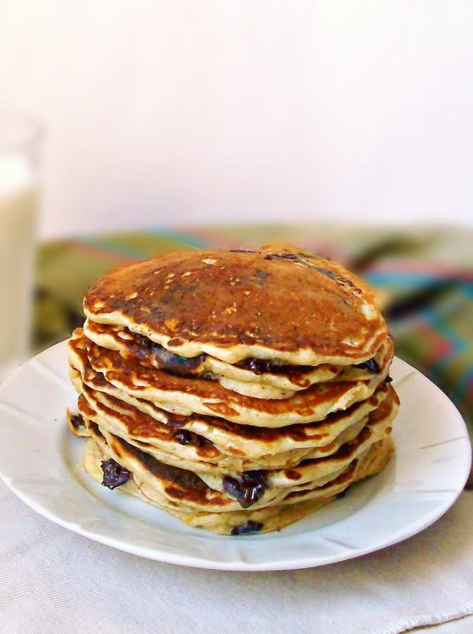 banana chocolate pancakes1