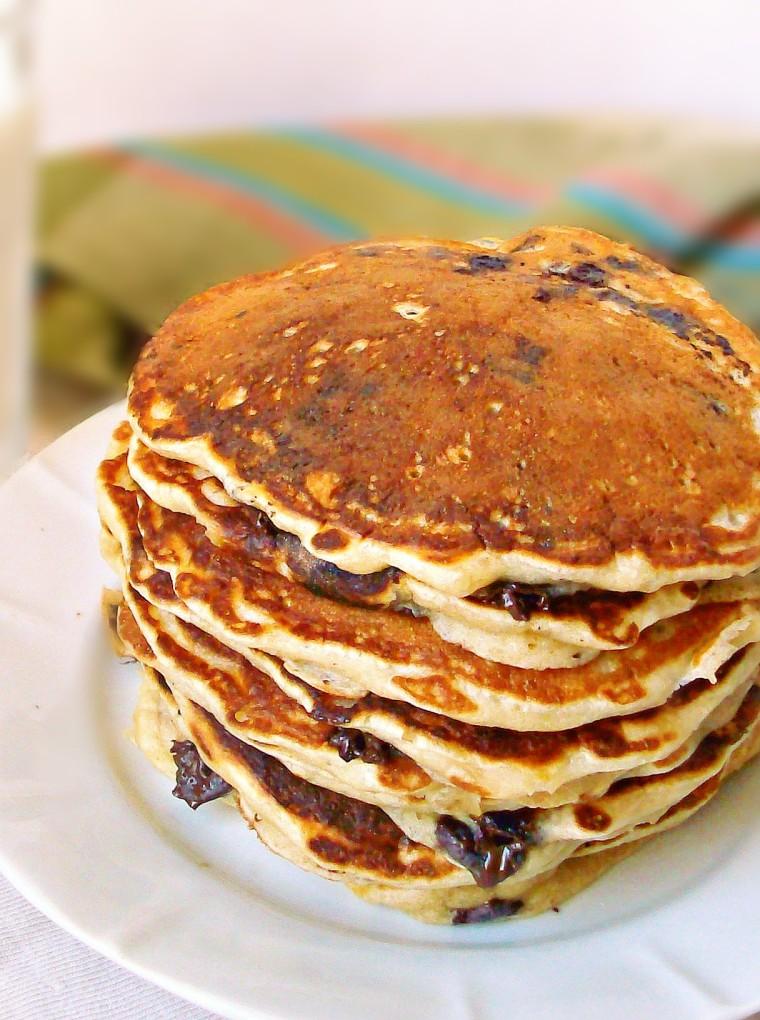 banana chocolate pancakes3