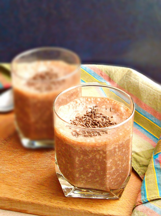 chocolate banana smoothie2