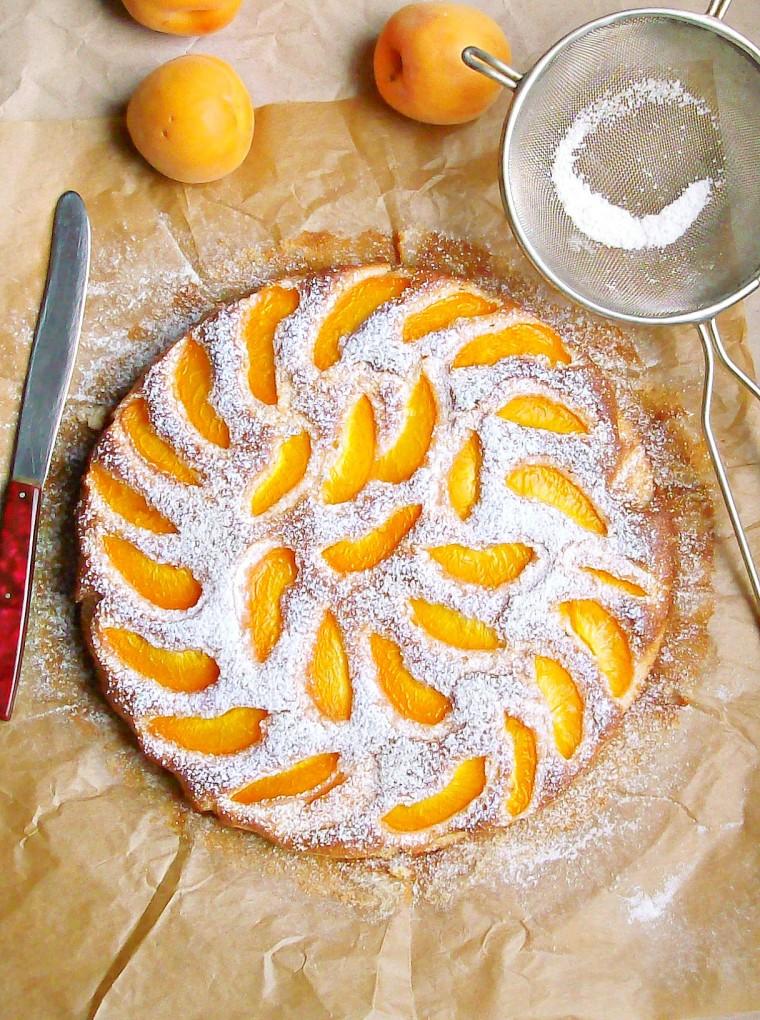 apricot orange cake 1