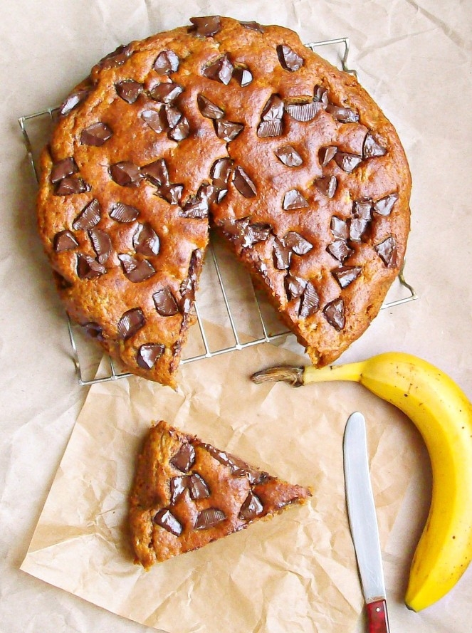 chocolate chunk banana bread1