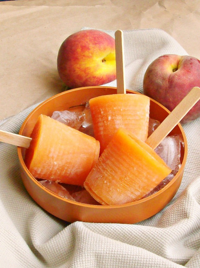 peach and melon popsicles2